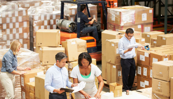 Warehousing and Re-packing